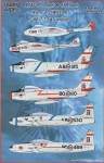 1-48-RCAF-Rams-and-Wildcats-F-86-T-33-and-Vampires-2-each-F-86-T-33-and-Vampire-F3