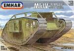 1-72-Mk-IV-Female-WWI-heavy-tank