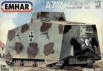 RARE-1-72-German-A7V-WWI-Tank