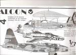 1-72-Grumman-E-1-Tracer-Grumman-F9F-8P-reconnaissance-Cougar-and-Lockheed-AP-2H-Spooky-Neptune-vacform