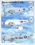 1-48-Beechcraft-18-UC45-JRB-4-C-45F-C-45F