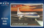 1-72-Convair-340-with-the-Pug-Nose-Decals-Allegheny