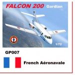 1-72-Dassault-Mystere-Falcon-20-Decals-French-Aeronavale