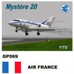 1-72-Dassault-Mystere-Falcon-20-Decals-Air-France