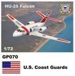 1-72-Dassault-Mystere-HU-25-Falcon-Decals-U-S-Coast-Guards