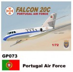 1-72-Dassault-Mystere-Falcon-20-Decals-Portugal-Air-Force