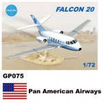 1-72-Dassault-Mystere-Falcon-20-Decals-Pan-American-Airways