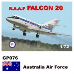 1-72-Dassault-Mystere-Falcon-20-Decals-Australia-Air-Force