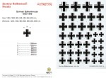 1-48-Luftwaffe-National-Insignia-Black-cross-with-white-and-black-outline-seven-sizes