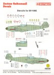 1-48-Messerschmitt-Bf-109E-complete-Stencil-Data-for-two-aircraft