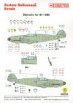 1-48-Messerschmitt-Bf-109E-complete-Stencil-Data-for-two-aircraft