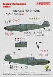 1-72-Bf-109E-Stencils-for-2-aircraft