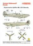1-72-Supermarine-Spitfire-Mk-I-XVI-Stencil-Data-for-two-aircraft-