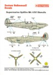 1-72-Supermarine-Spitfire-Mk-I-XVI-Stencil-Data-for-two-aircraft-