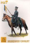 1-72-Brunswick-Cavalry-Napoleonic-x-12-mounted-figures