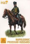 1-72-Prussian-Hussars-Napoleonic-x-12-mounted-figures