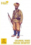 1-72-Colonial-Wars-Indian-Infantry-x-48-figur