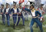 1-72-Polish-Infantry-in-Attack-Napoleonic-era