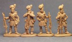 1-72-Napoleonic-Highlanders-Standing-at-Ease