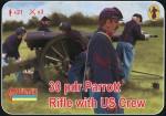 1-72-30-pdr-Parrott-Rifle-with-US-crew-ACW-American-Civil-War