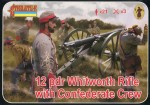 1-72-Whitworth-Rifle-with-Confederate-Crew-ACM-American-Civil-War