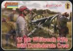 1-72-Whitworth-Rifle-with-Confederate-Crew-ACM-American-Civil-War