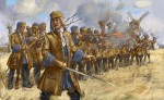 1-72-Dismounted-French-Dragoons-in-Skirmish-War-of-the-Spanish-Succession