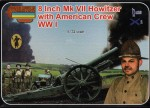 1-72-8-Inch-Mk-VII-Howitzer-with-American-Crew-WWI-Strelets-Arms-sets