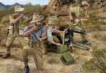 1-72-Australian-Camel-Corps-Dismounted