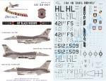 RARE-1-32-F-16C-OIF-421st-FS-Black-Widows-SALE-