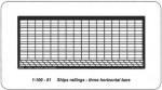 1-100-Railing-3-bar-Horizontal