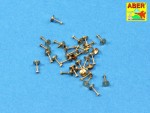 1-16-Turned-imitation-of-Hexagonal-bolts-119mm-x-30-pcs-