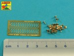 1-16-One-wing-nuts-for-German-vehicles-PE-nuts-with-turned-bolt-x-26-pcs-