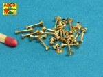 1-16-Turned-imitation-of-Hexagonal-bolts-and-ampampampampamp-nuts-16-x-40-mm-x-15-pcs-And-16mm-nuts-x-10-pcs-