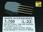 1-700-Set-of-10-pcs-356-mm-barrels-for-Royal-Navy-King-George-V-class-battleships