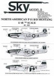 1-48-P51B-D-Mustangs-All-natural-metal-USAAC