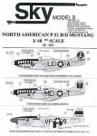 1-48-P51B-D-Mustangs-All-natural-metal-USAAC