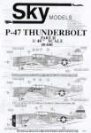 Republic-P-47C-D-Bubble-and-Razorback-N-