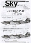 1-48-Curtiss-P-40-Choice-of-19-aircraft-of-v