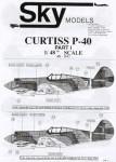 1-48-Curtiss-P-40-Choice-of-19-aircraft-of-v