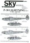 1-48-Lockheed-P-38-Lightnings-Markings-for-1