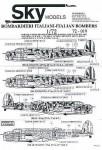 1-72-Italian-Bombers