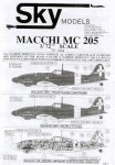 1-72-Macchi-MC-205-Choice-of-45-aircraft-in