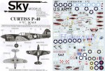 1-72-Curtiss-P-40-All-versions-Markings-for