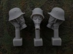 54mm-Head-M1916-Helmet-Gas-Mask-M17