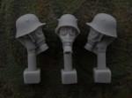 54mm-Head-M1916-Helmet-Gas-Mask-M17