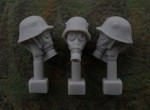 54mm-Head-M1916-Helmet-Cover-Gas-Mask-M17