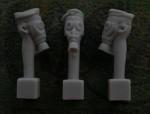 54mm-Head-Field-Cap-Gas-Mask-M17-German