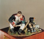 54mm-Infantry-of-Line-Fusilier-reading-a-letter