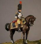 54mm-Officier-superieur-Grenadier-r-cheval-de-la-garde-1809-Cheval-en-resine